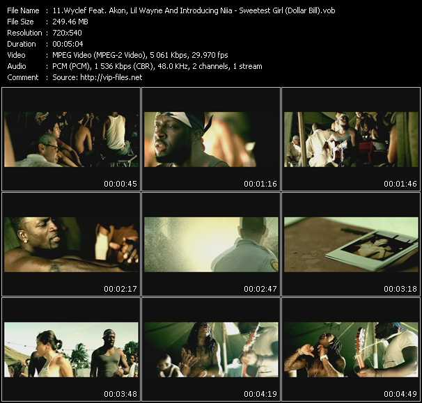 Wyclef Jean Feat. Akon, Lil' Wayne And Niia video screenshot