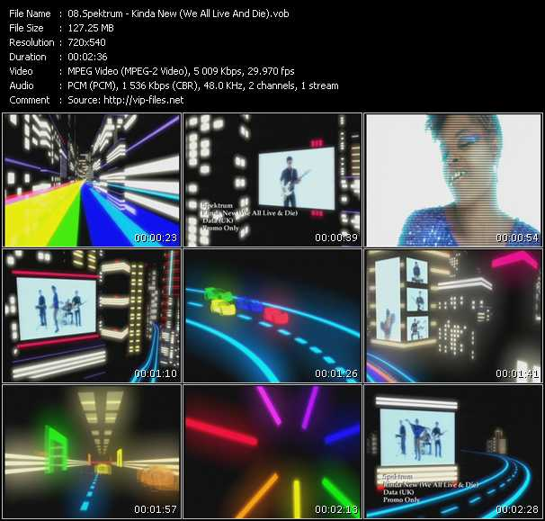 Spektrum video screenshot