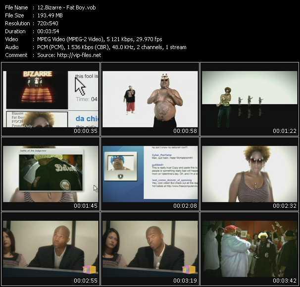 Bizarre video screenshot