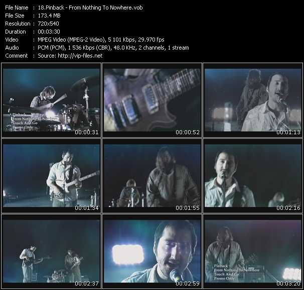 Pinback video screenshot