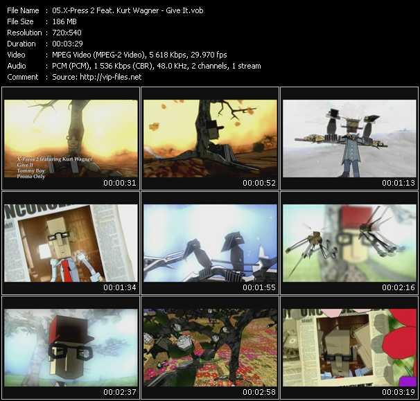 X-Press 2 Feat. Kurt Wagner video screenshot