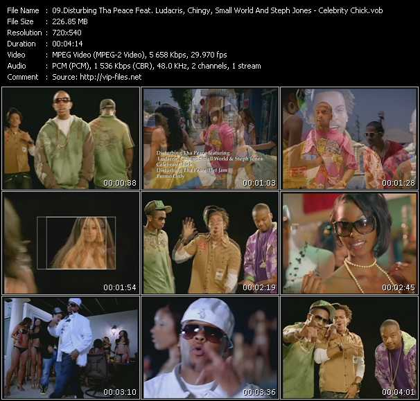 Disturbing Tha Peace Feat. Ludacris, Chingy, Small World And Steph Jones video screenshot