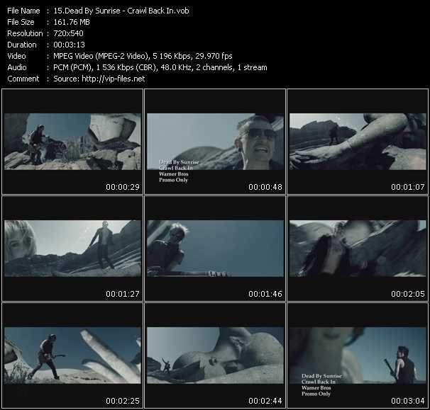 Dead By Sunrise video screenshot