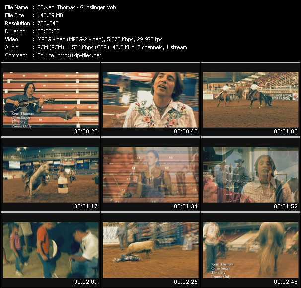 Keni Thomas video screenshot