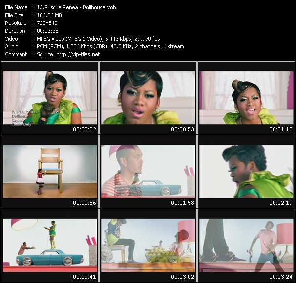 Priscilla Renea video screenshot