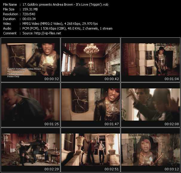 Goldtrix presents Andrea Brown video screenshot