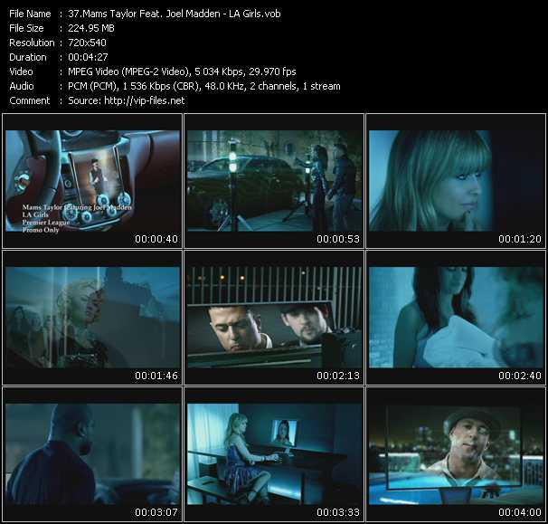 Mams Taylor Feat. Joel Madden video screenshot