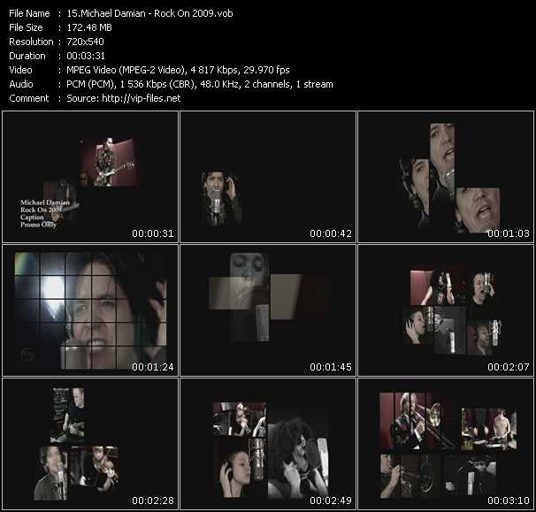 Michael Damian video screenshot