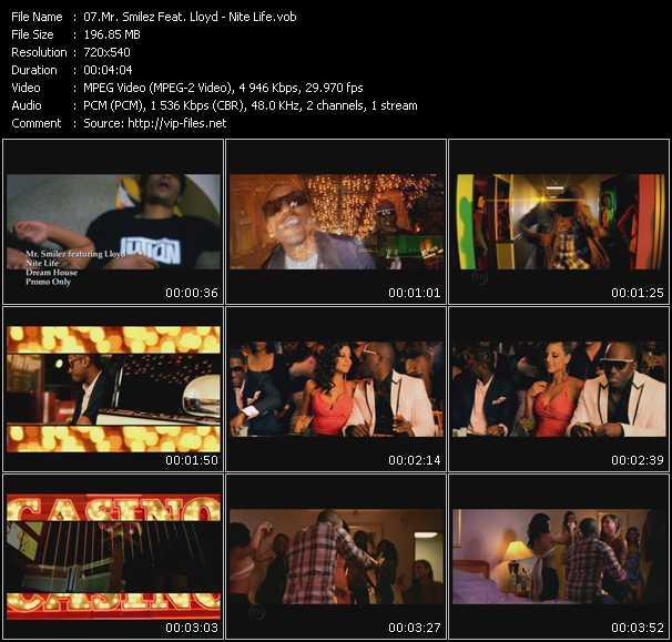 Mr. Smilez Feat. Lloyd video screenshot