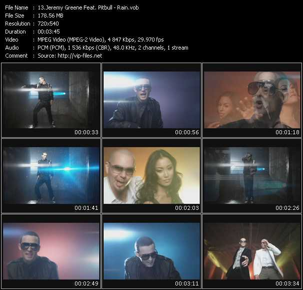Jeremy Greene Feat. Pitbull video screenshot