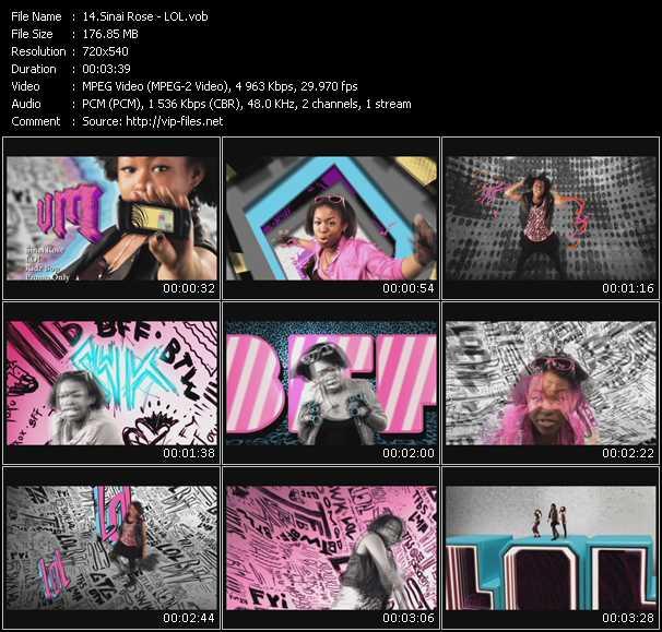 Sinai Rose video screenshot