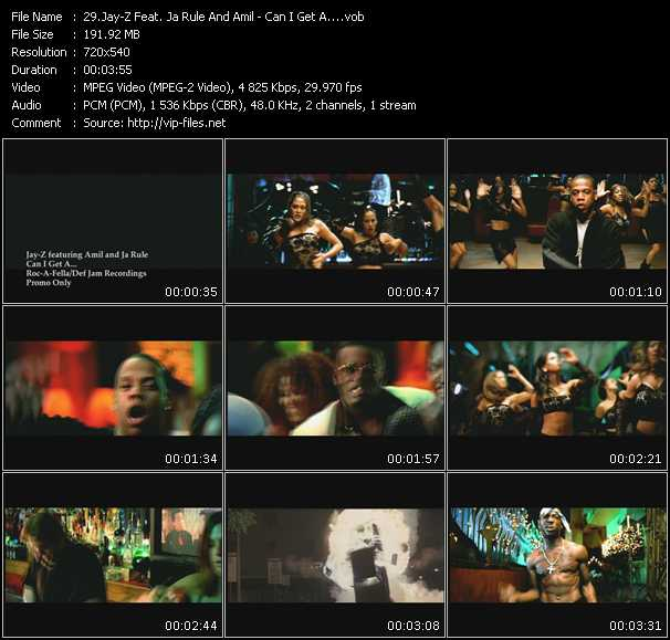 Jay-Z Feat. Ja Rule And Amil video screenshot