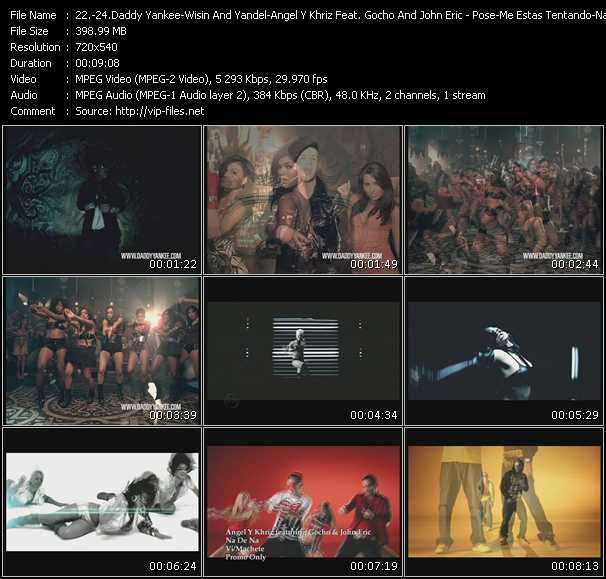 Daddy Yankee - Wisin And Yandel - Angel And Khriz Feat. Gocho And John Eric video screenshot