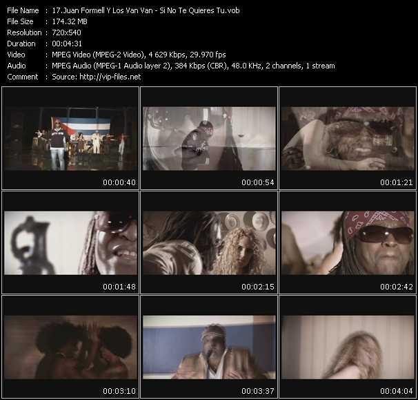 Juan Formell Y Los Van Van video screenshot