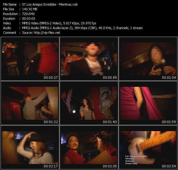 Los Amigos Invisibles video screenshot