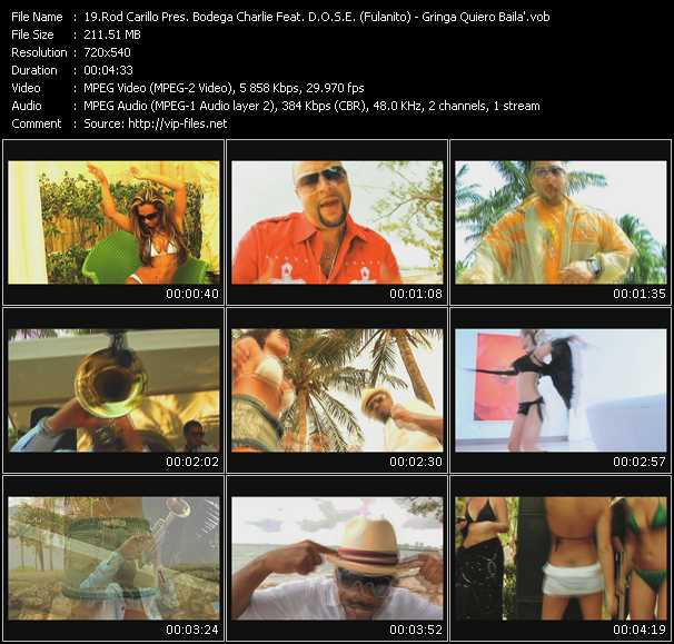 Rod Carrillo Pres. Bodega Charlie Feat. D.O.S.E. (Fulanito) video screenshot