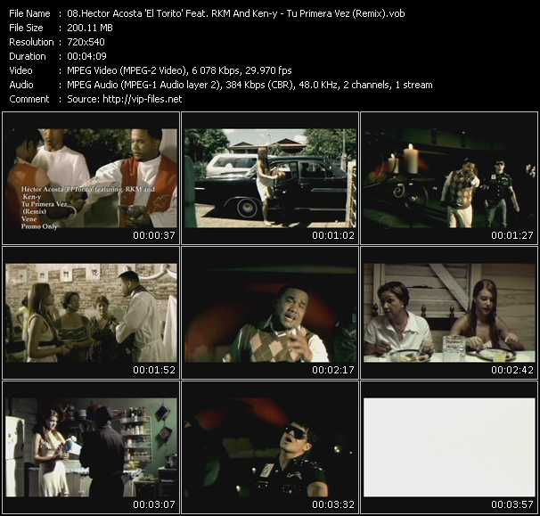 Hector Acosta El Torito Feat. Rakim And Ken-Y video screenshot