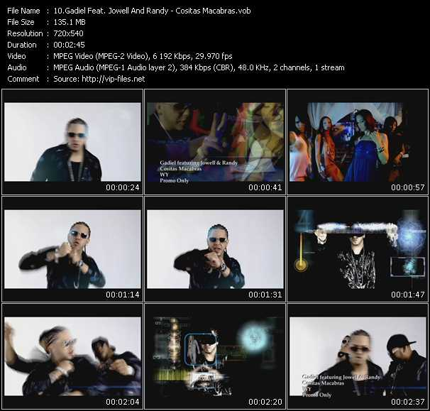 Gadiel Feat. Jowell And Randy video screenshot