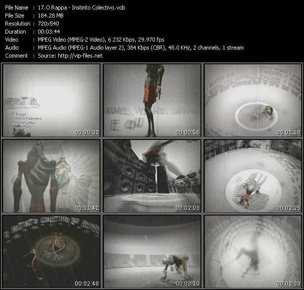 O Rappa video screenshot