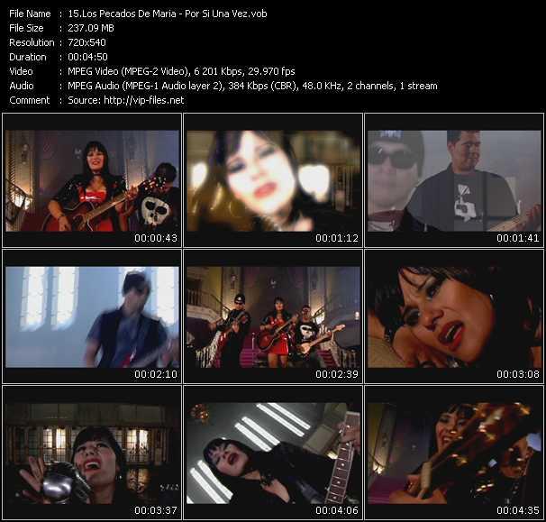 Los Pecados De Maria video screenshot