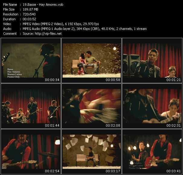 Basse video screenshot