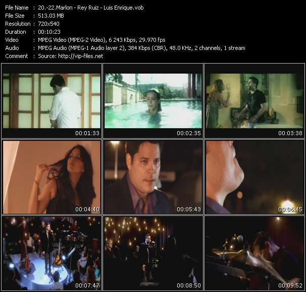 Marlon - Rey Ruiz - Luis Enrique video screenshot