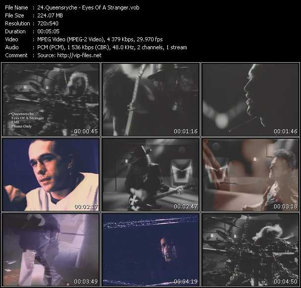 Queensryche video screenshot