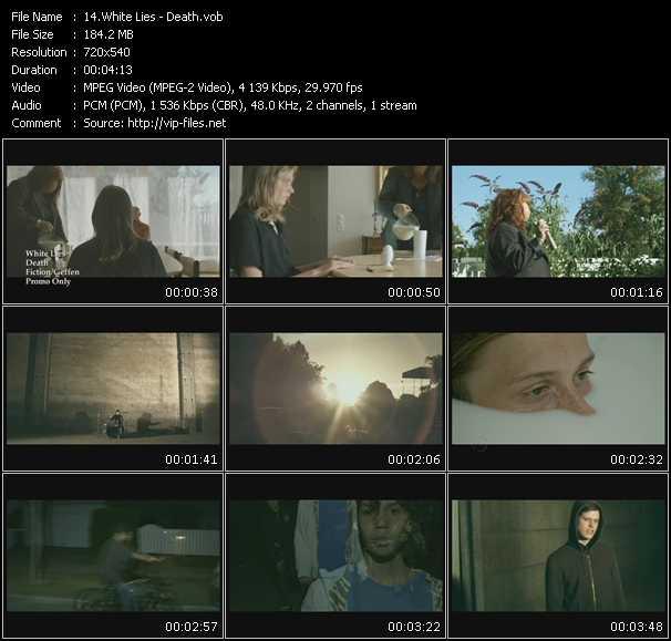 White Lies video screenshot