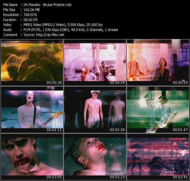 video Bruise Pristine screen