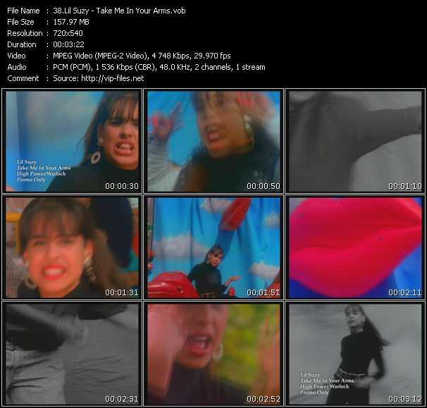 Lil' Suzy video screenshot