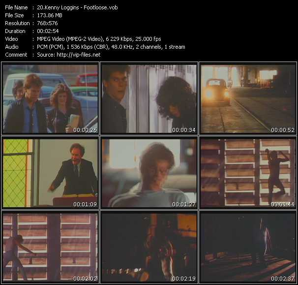 Kenny Loggins video screenshot