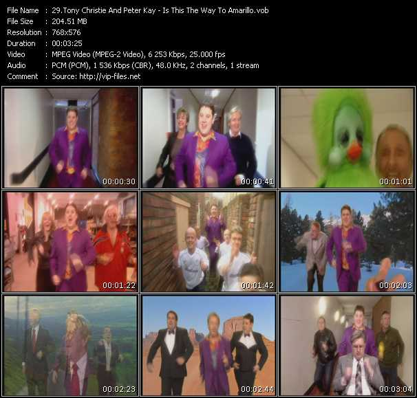 Tony Christie And Peter Kay video screenshot