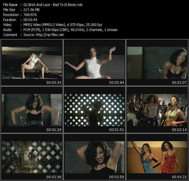 Brick And Lace video screenshot