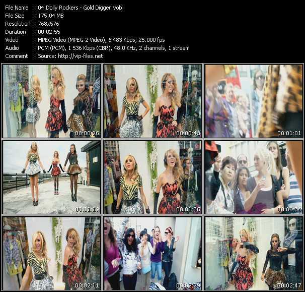 Dolly Rockers video screenshot