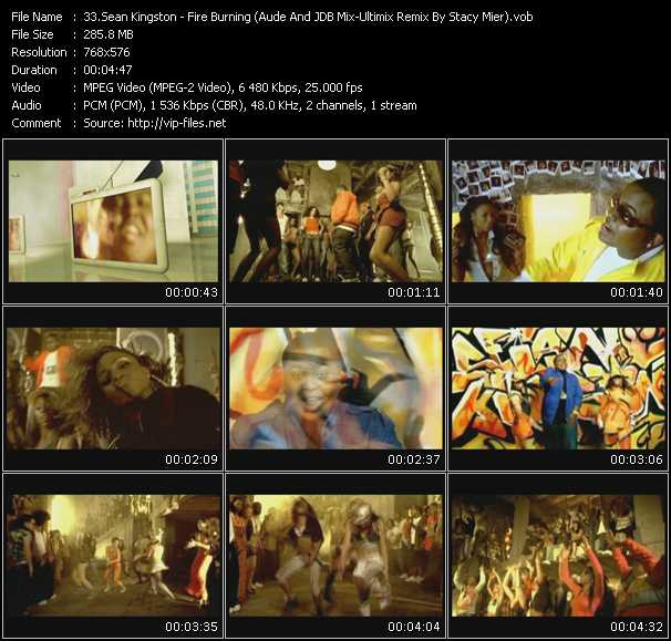 video Fire Burning (Aude And JDB Mix-Ultimix Remix By Stacy Mier) screen
