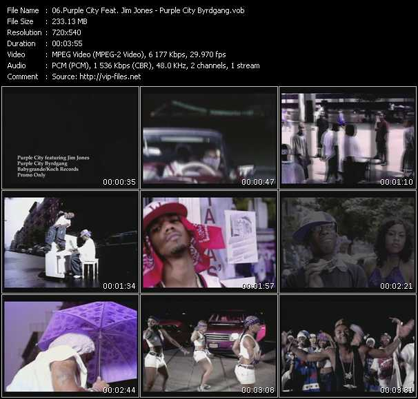 Purple City Feat. Jim Jones video screenshot
