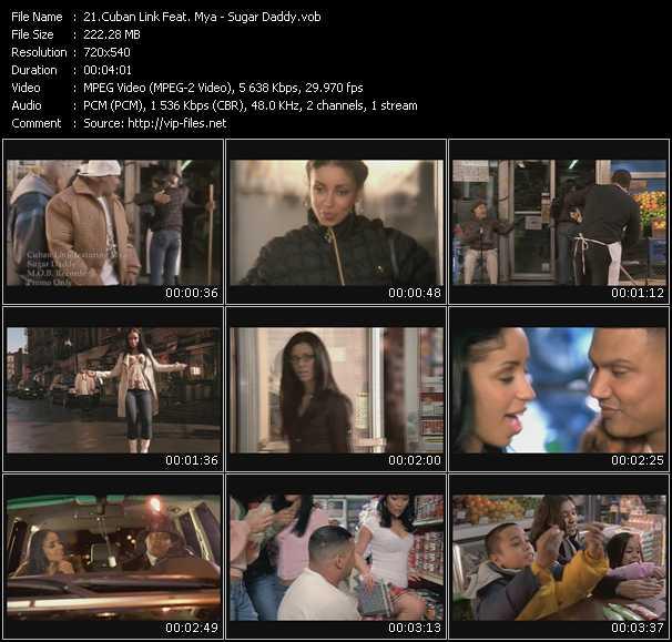 Cuban Link Feat. Mya video screenshot