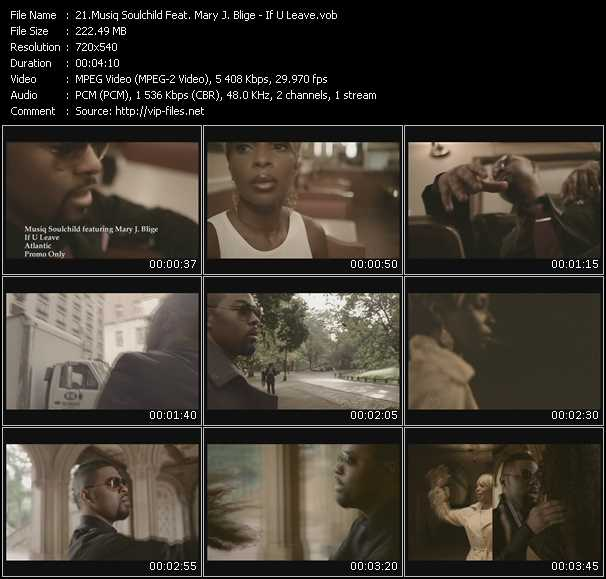 Musiq Soulchild Feat. Mary J. Blige video screenshot