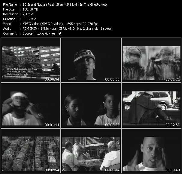 Brand Nubian Feat. Starr video screenshot