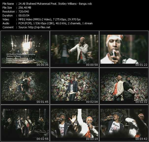 Ali Shaheed Muhammad Feat. Stokley Williams video screenshot