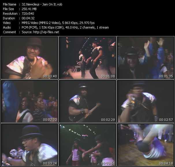 Newcleus video screenshot