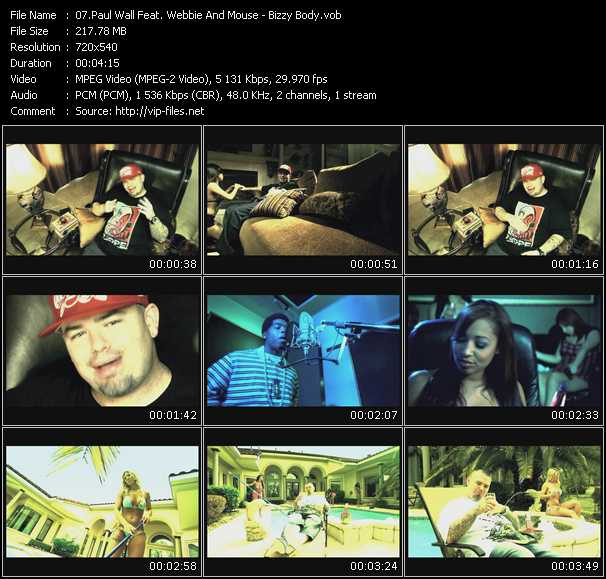 Paul Wall Feat. Webbie And Mouse video screenshot
