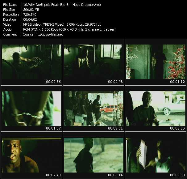 Willy Northpole Feat. B.O.B. video screenshot