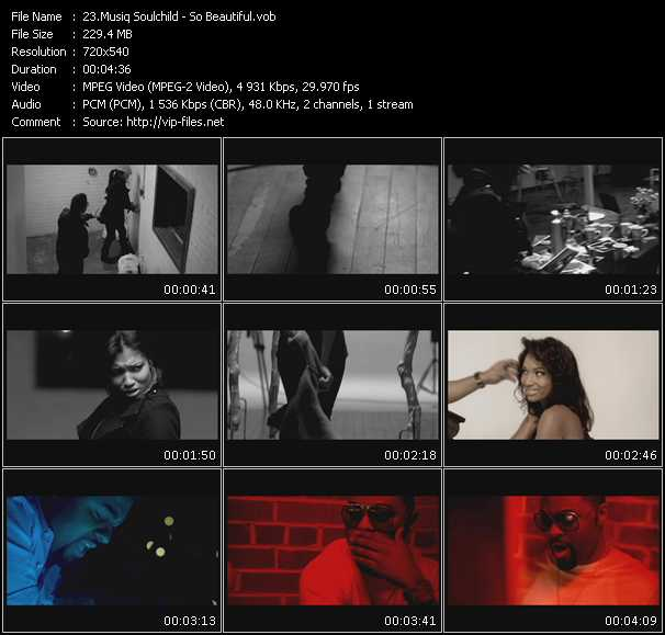 Musiq Soulchild video screenshot