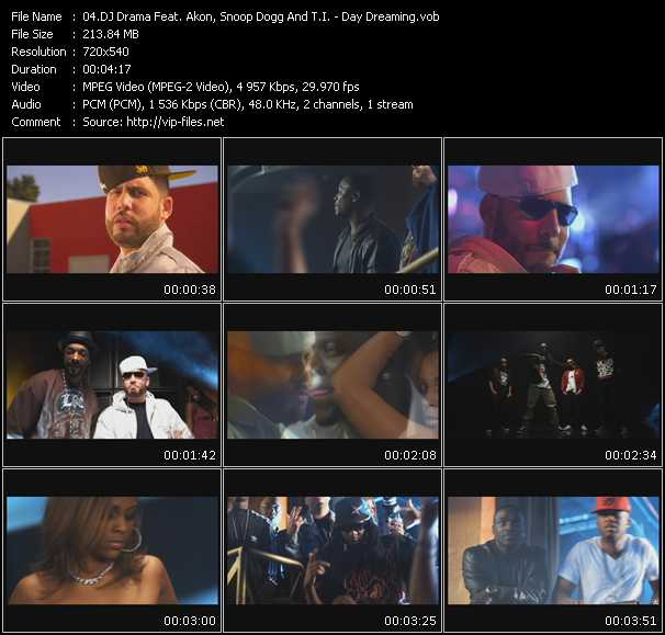 Dj Drama Feat. Akon, Snoop Dogg And T.I. video screenshot