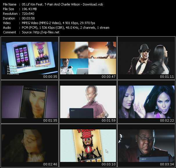 Lil' Kim Feat. T-Pain And Charlie Wilson video screenshot