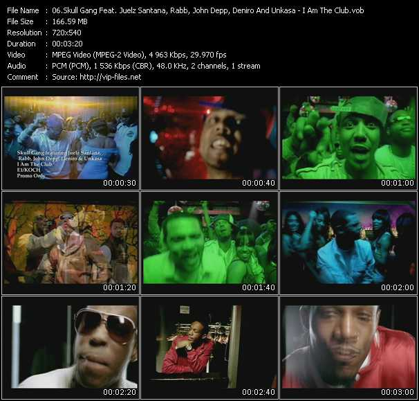 Skull Gang Feat. Juelz Santana, Rabb, John Depp, Deniro And Un Kasa video screenshot