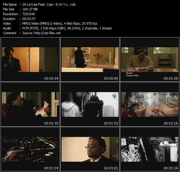 LeCrae Feat. Cam video screenshot