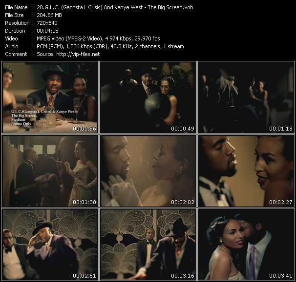 G.L.C. (Gangsta L Crisis) And Kanye West video screenshot