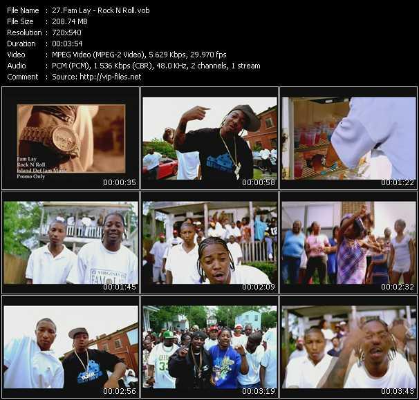 Fam Lay video screenshot
